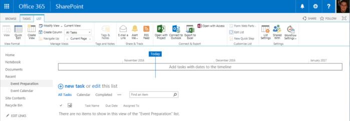 SharePoint Online - sync tasks outlook