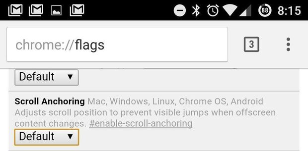 chrome android tips anchor