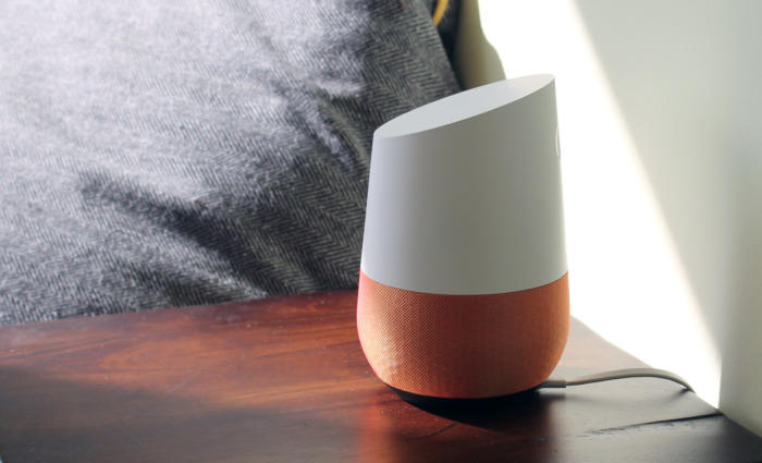 google home beauty morning light