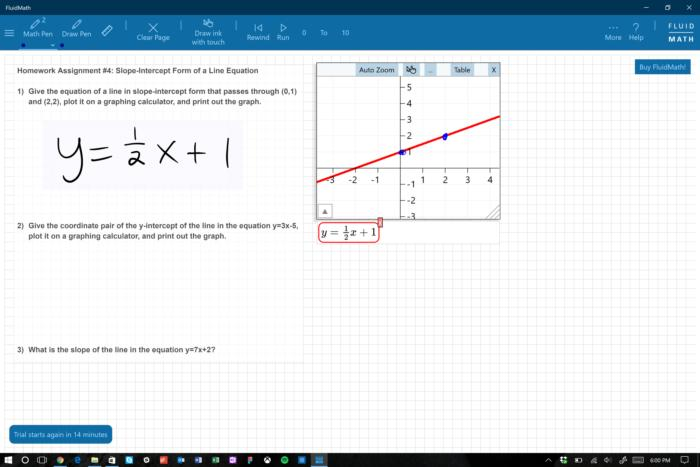 fluid math