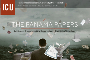 panama papers icij internation consortium of investigative journalists web site