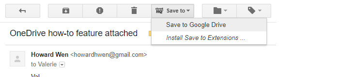 Chrome extensions for Google Drive - Save Emails to Google Drive