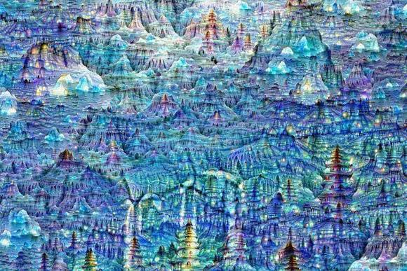 mike tyka neural network art google