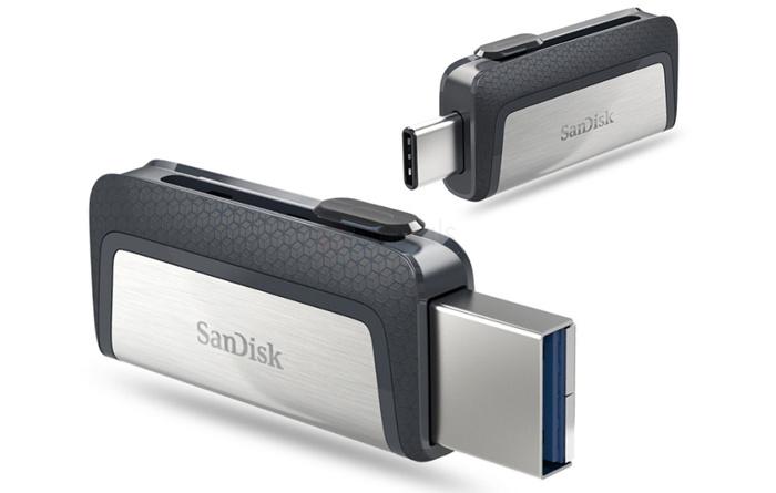USB-C - SanDisk Ultra Dual flash drive