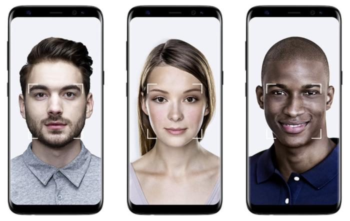 galaxy s8 face recognition