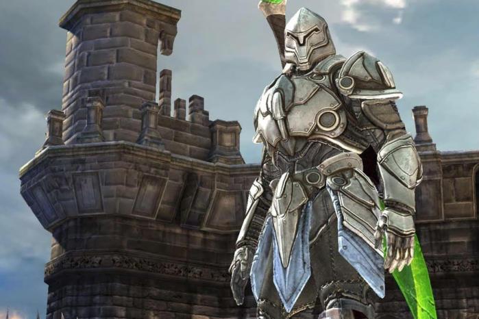 infinity blade knight
