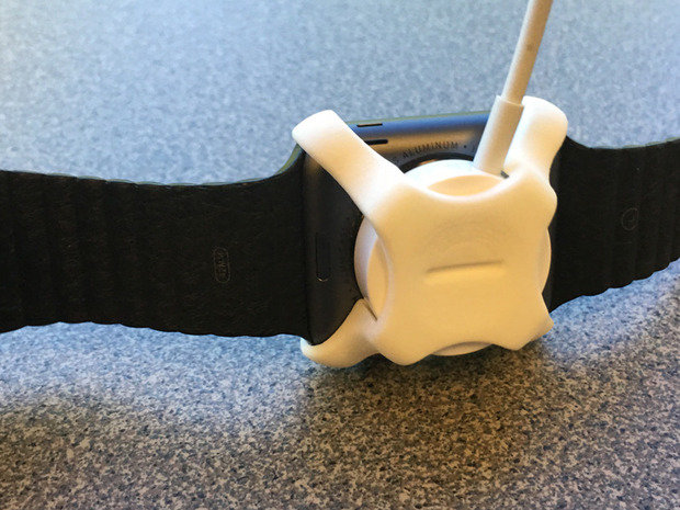 apple watch shapeways charging clip