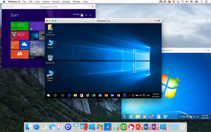 parallels desktop 12 running windows