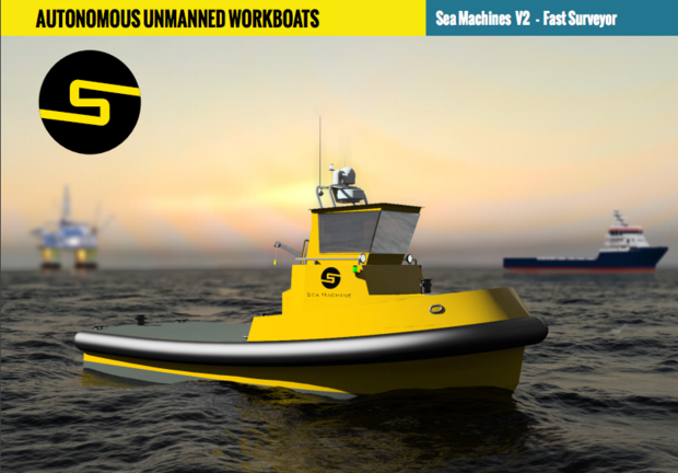 Self-driving autonomous boats