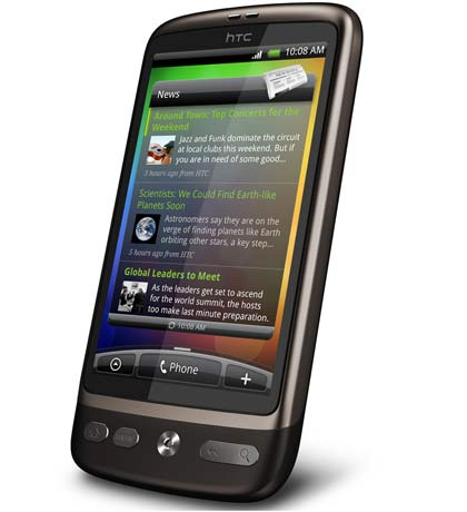 HTC Desire vs iPhone 3GS