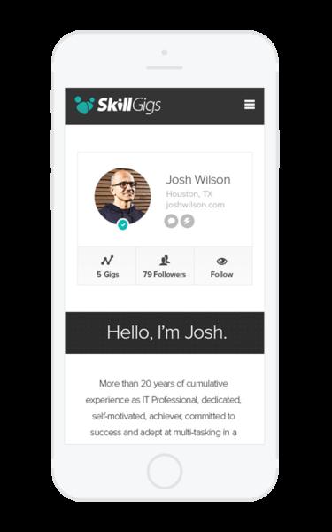 SkillsGig Mobile