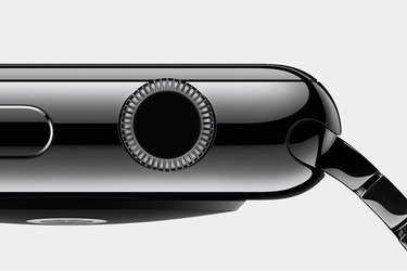 Apple iWatch digital crown [black]