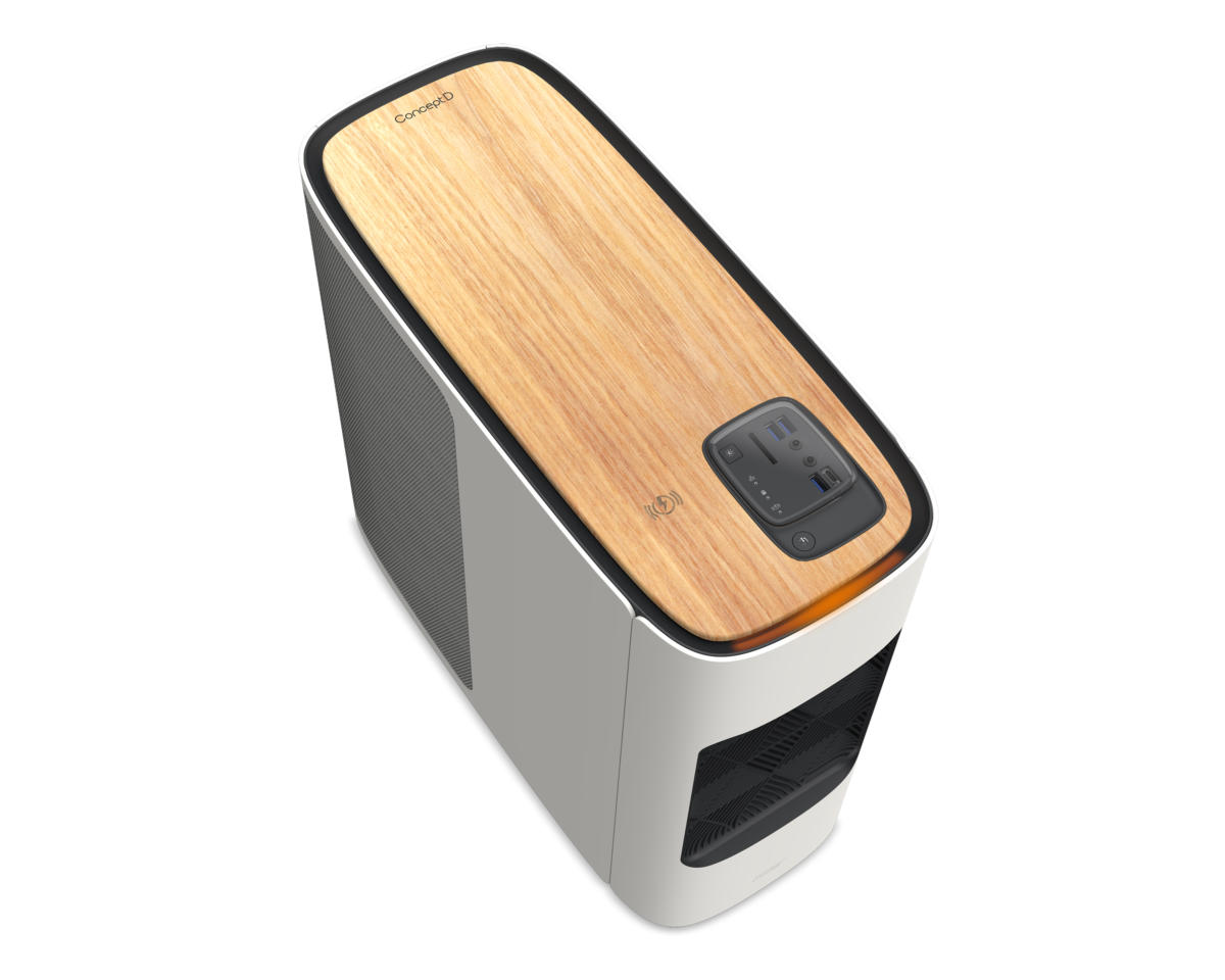 acer conceptd 500 wood top