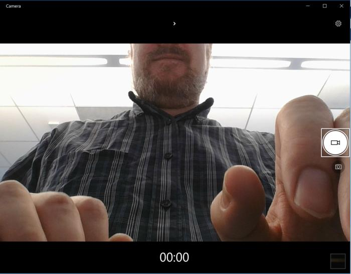 Huawei Matebook X Pro camera capture obscured
