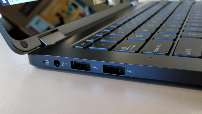 Asus NovaGo side usb a