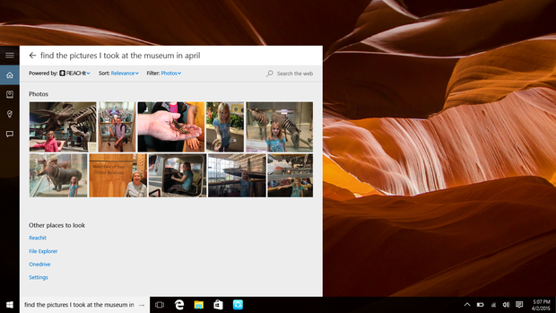 Lenovo Cortana REACHit integration