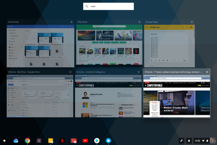 Chromebook Chrome OS tips - overview