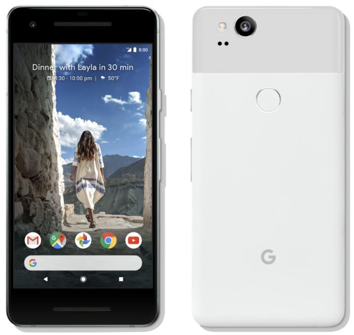 pixel 2 front back
