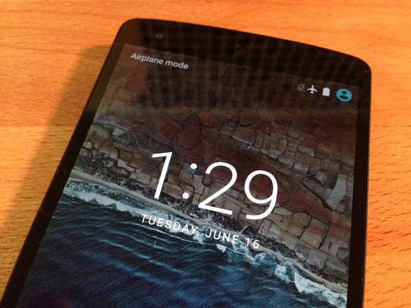 android m lock screen