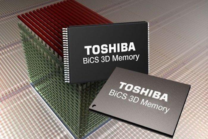 Toshiba BiCS 3D NAND flash