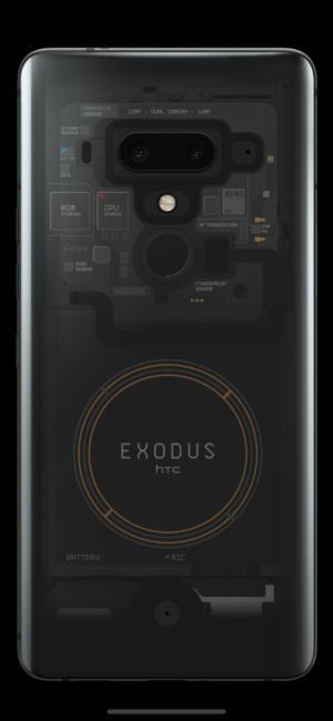 HTC Exodus 1 blockchain smartphone