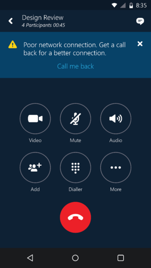 skype cellular call back