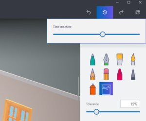 paint3d time machine
