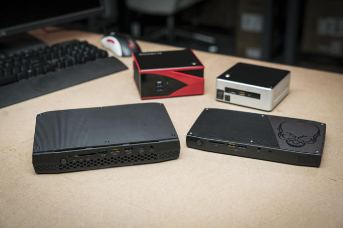 Hades Canyon NUC - Comparison with other mini-PCs