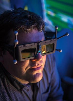 Boeing 3D virtual reality glasses for virtual design