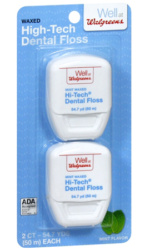 high tech dental floss