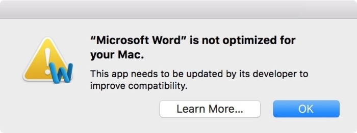 What the mac 32 bit app phase out means to you techworld word is 32 bit fandeluxe Choice Image