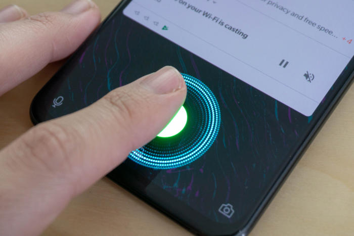 6T fingerprint animation