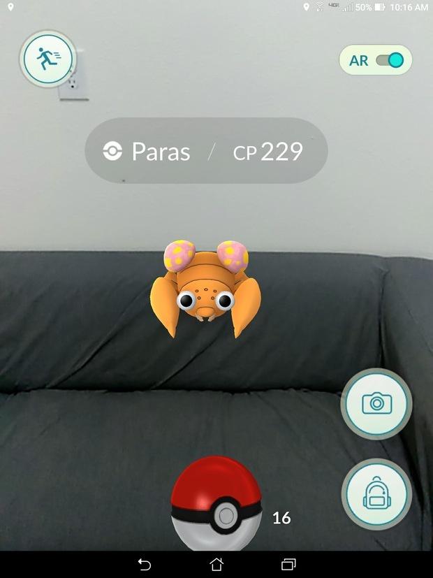 asus zenpad z8 playing pokemon go