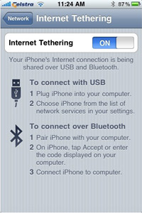 Tethering tutorial: How to use your iPhone as a modem - Good Gear Guide