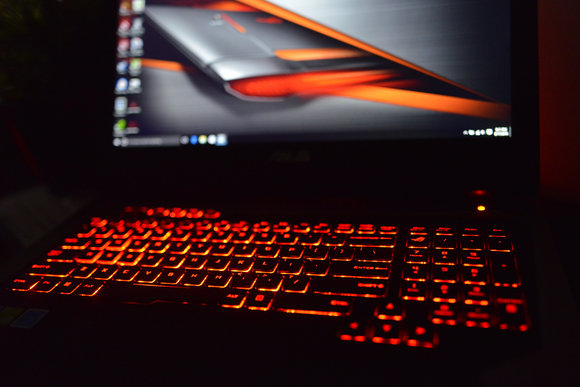 Asus ROG G752VS-XB72K Game Center Keyboard Backlighting
