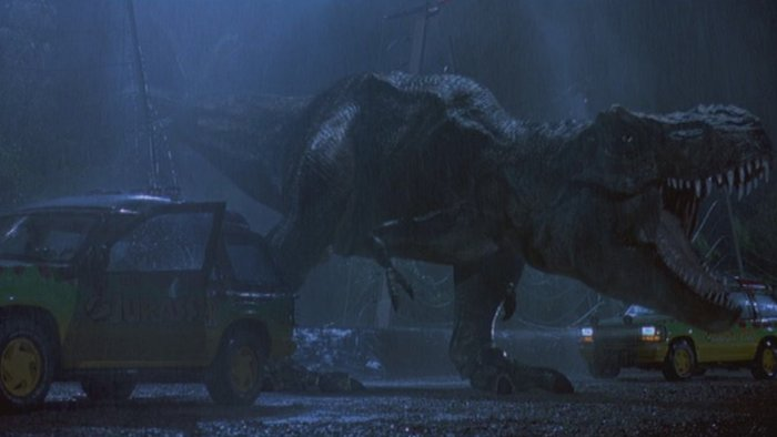 The T-Rex scene from Jurassic Park took on a heightened sense of realism with the SB16-Ultra.