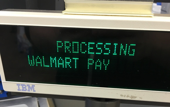 walmart pay pos processing