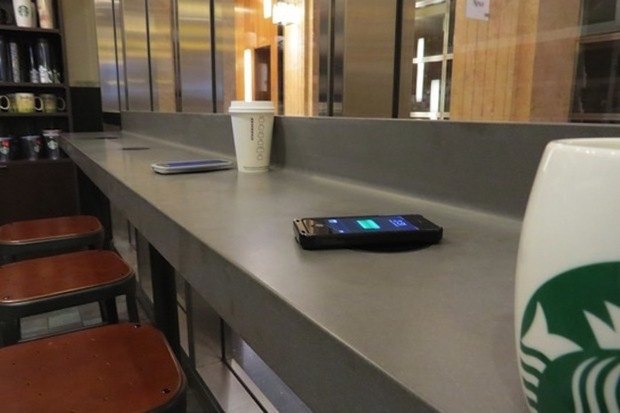 powermat charging wireless charging
