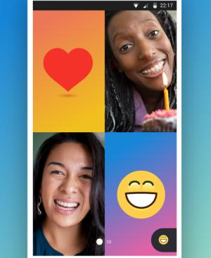 Skype group video chat cropped