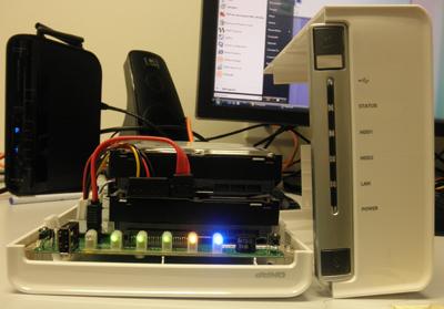 QNAP TS-210 Turbo NAS device