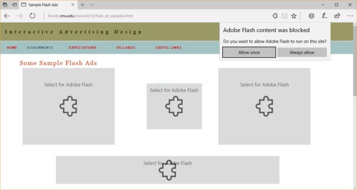 Windows 10 Creators Update - block flash