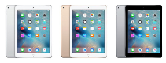apple ipad air 2 3up stock