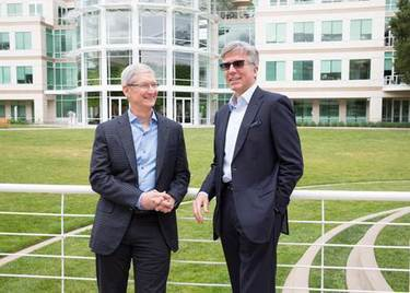 apple tim cook sap bill mcdermott