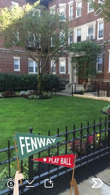 snapchat fenway geofilter neighborhood