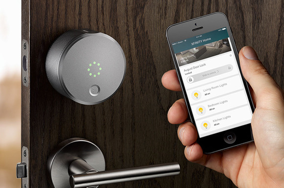 Comcast and August smart lock