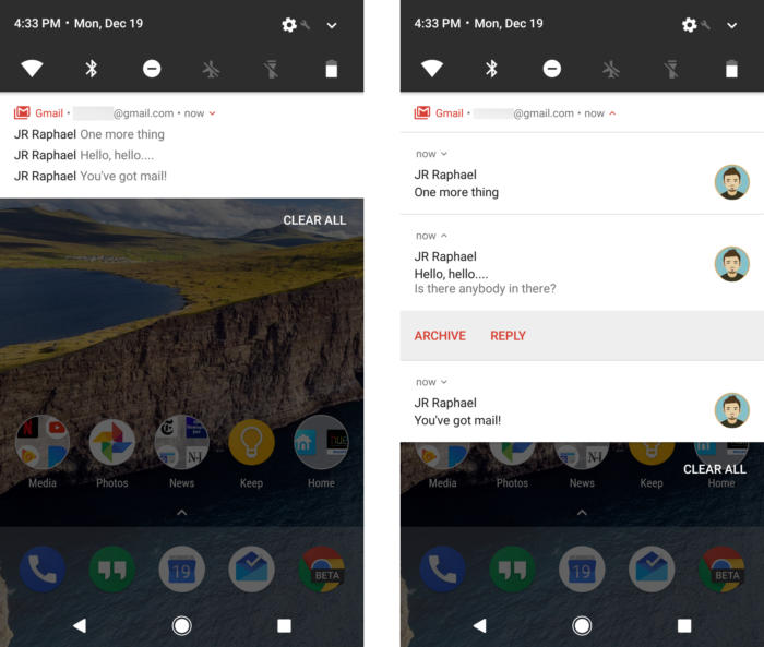 19 android nougat notifications