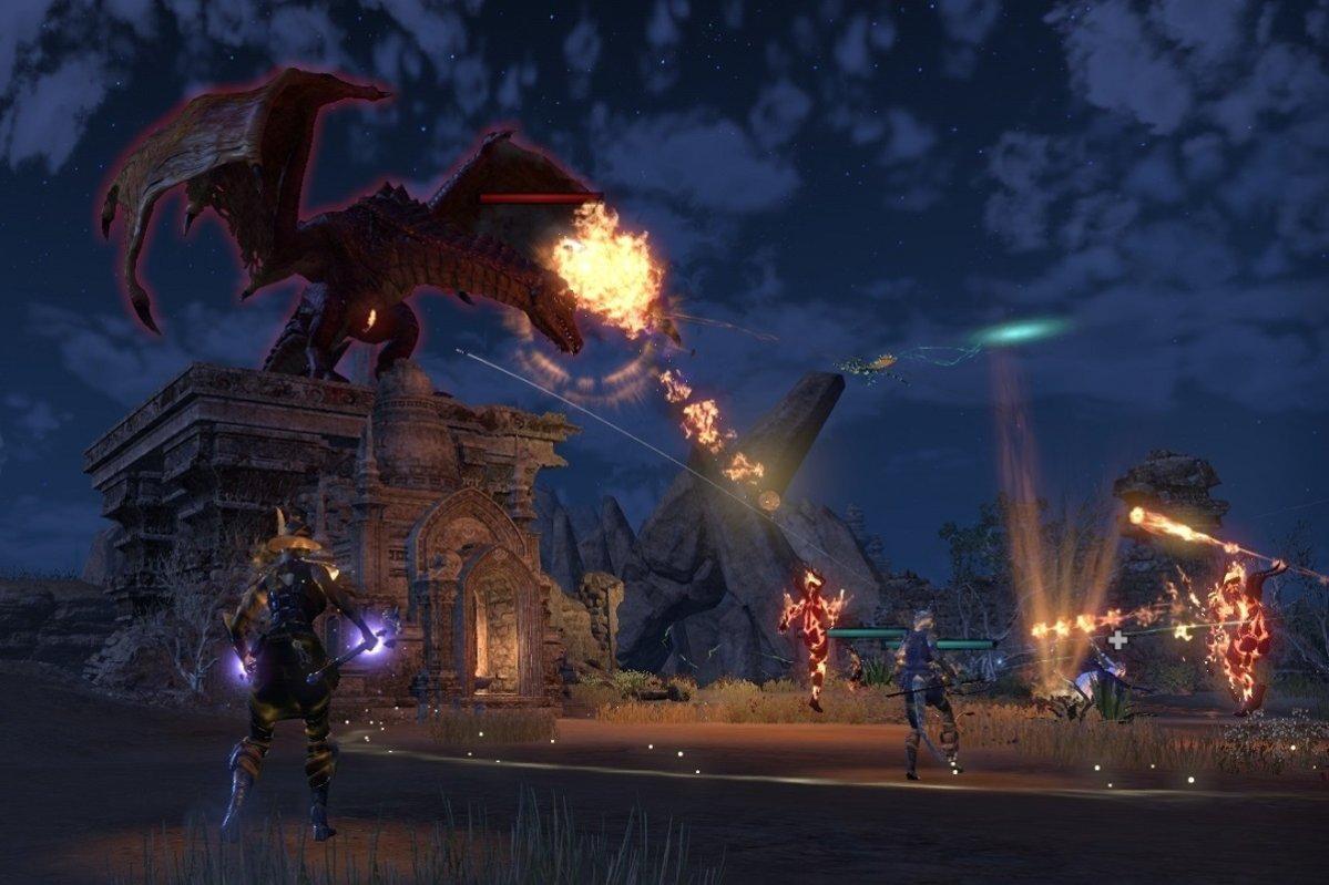 dragon fight elsweyr