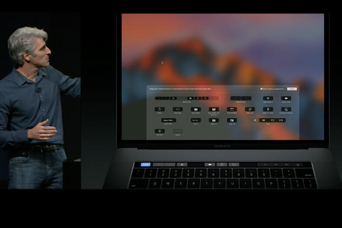 touchbar customized