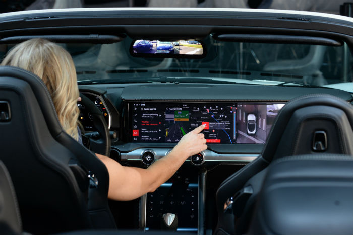 Watson use in car cockpit