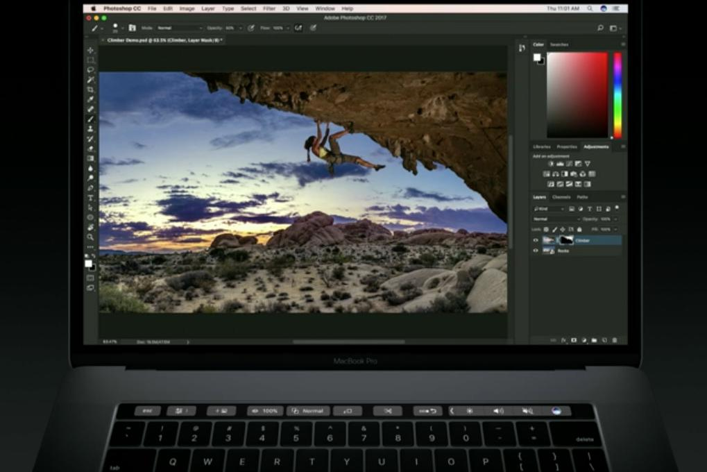 photoshop touch bar 5